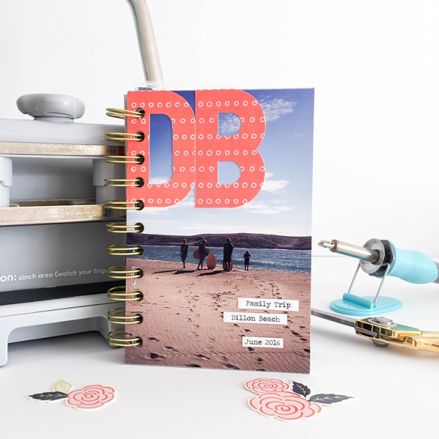 Beach Mini Album by Tessa Buys for We R Memory Keepers