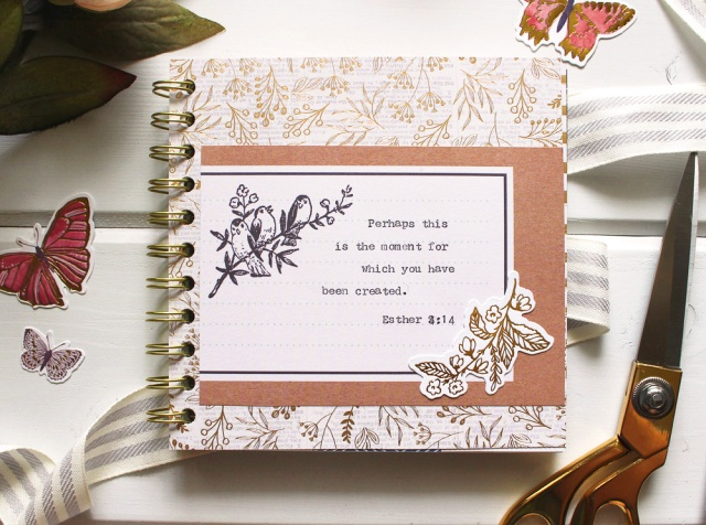 Quote Journal by Kimberly Crawford for We R Memory Keepers
