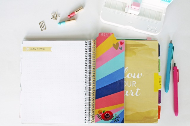 DIY Snap In Planner Dashboard by Laura Silva  for We R Memory Keepers