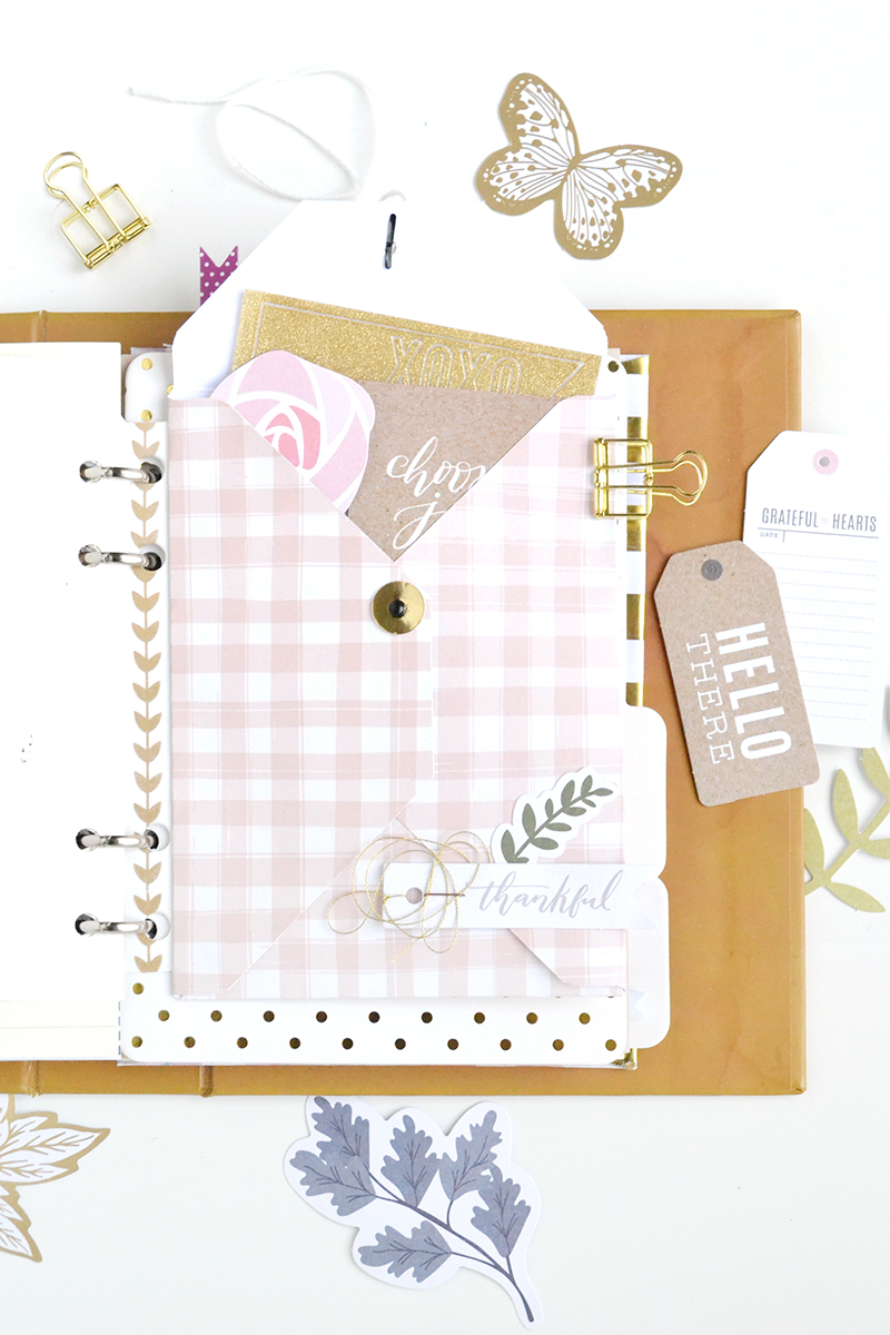 Coin Envelope Planner Insert by Aly Dosdall for We R Memory Keepers