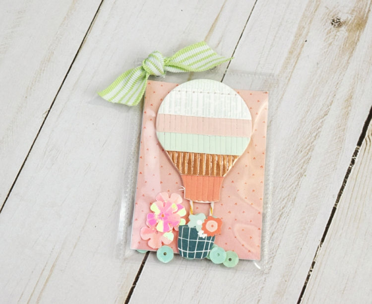 Photo Sleeve Fuse Backpack Charms by Becki Adams for We R Memory Keepers