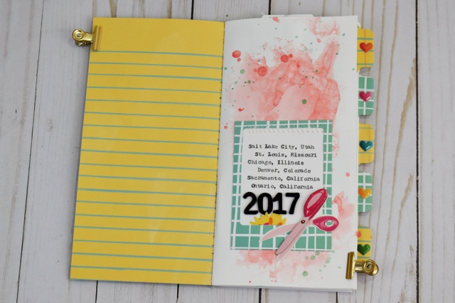 Stitch Happy Art Journal by Becki Adams for We R Memory Keepers