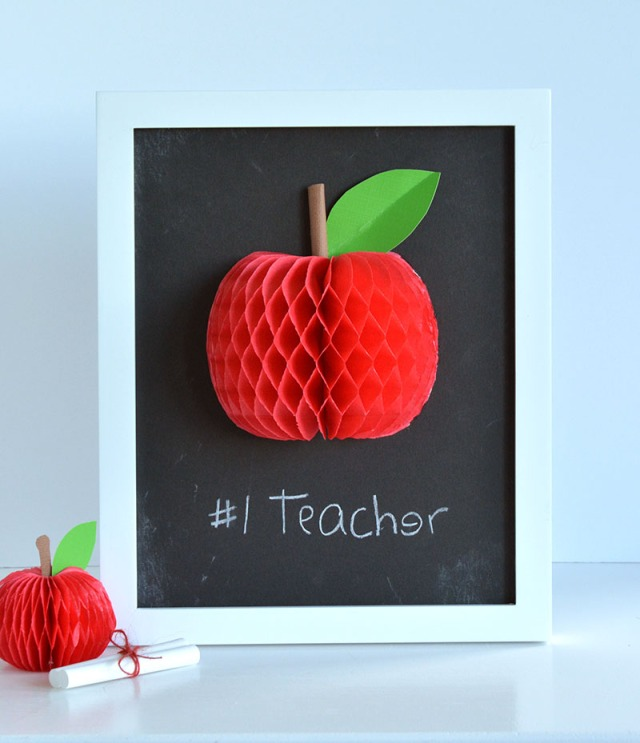 Framed Classroom Art with the DIY Party Collection from We R Memory Keepers