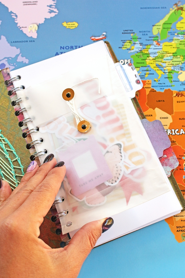 Traveler's Notebook by Chantalle McDaniel for We R Memory Keepers
