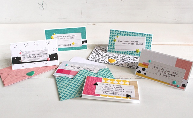 Lunchbox Notes with the Typecast Typewriter by Kimberly Wilkinson for We R Memory Keepers