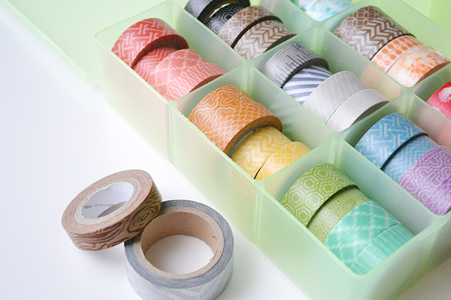 Washi Tape Storage Ideas by Aly Dosdall