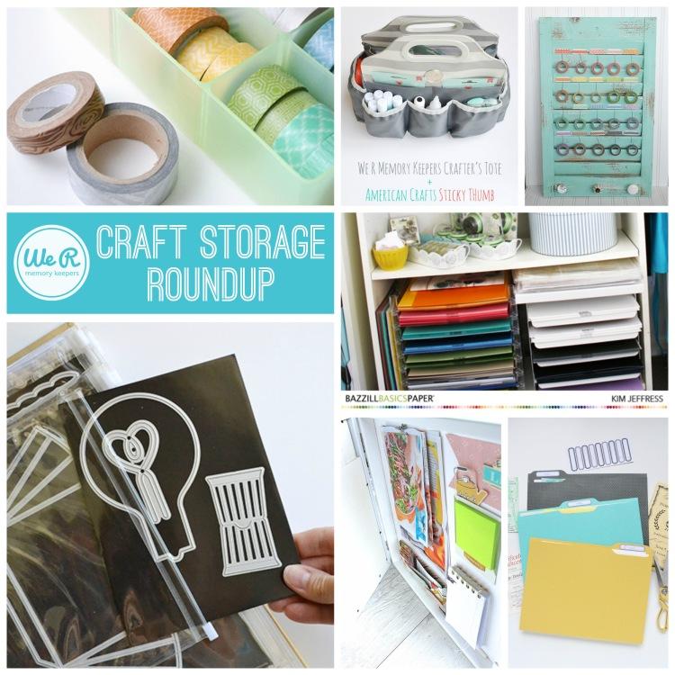 We R Memory Keepers Craft Storage Roundup