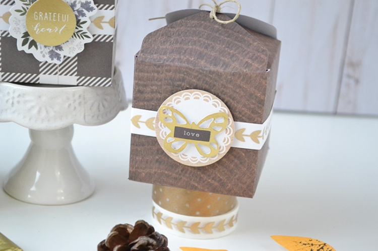 Fall Favor Boxes by Aly Dosdall for We R Memory Keepers