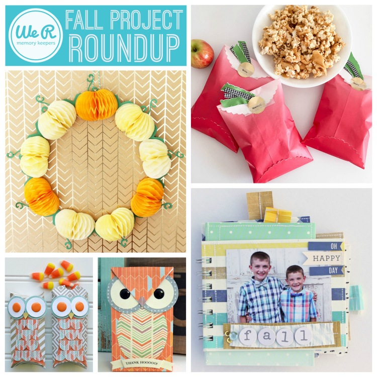 We R Memory Keepers Fall Project Roundup