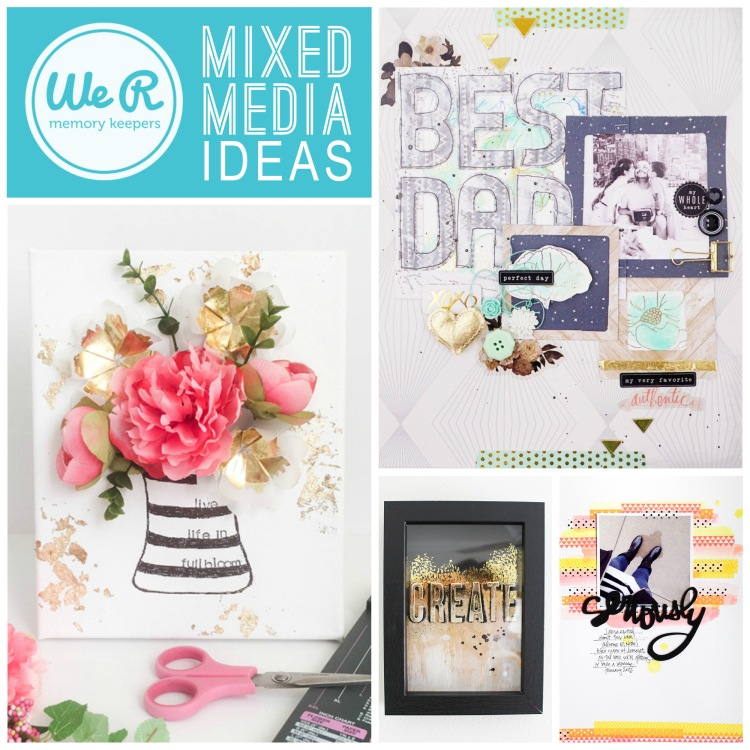 Mixed Media Project Ideas by We R Memory Keepers