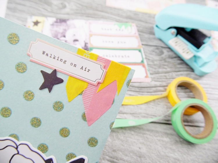 Pocket Page featuring the Washi Chomper by Soraya Maes for We R Memory Keepers