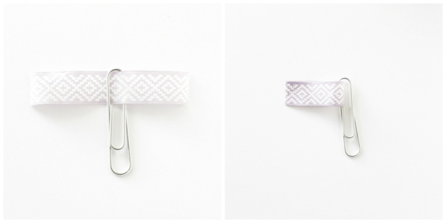 Washi Tape Bookmarks by Laura Silva for We R Memory Keepers