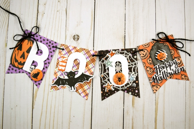 Halloween Banner | We R Memory Keepers Blog