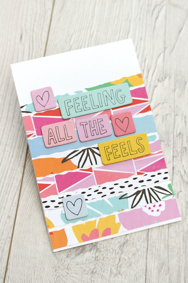 Handmade Cards by Chantalle McDaniel for We R Memory Keepers
