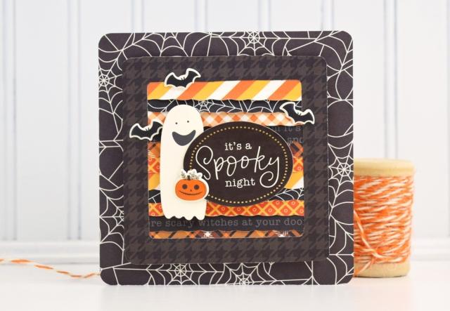 Card Week Frame Punch Board Halloween Card We R Memory