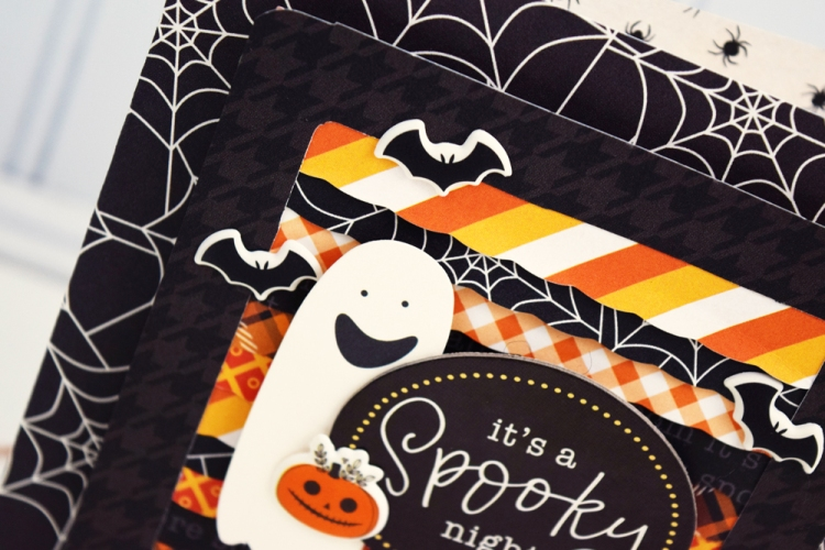 Halloween Card by Becki Adams for We R Memory Keepers