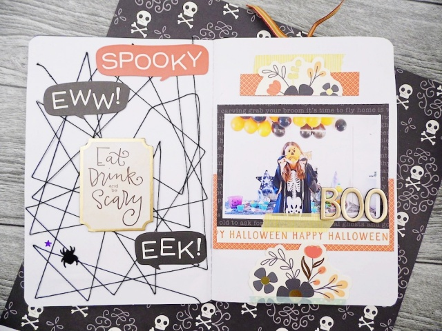 Halloween Typecast Journal by Soraya Maes for We R Memory Keepers