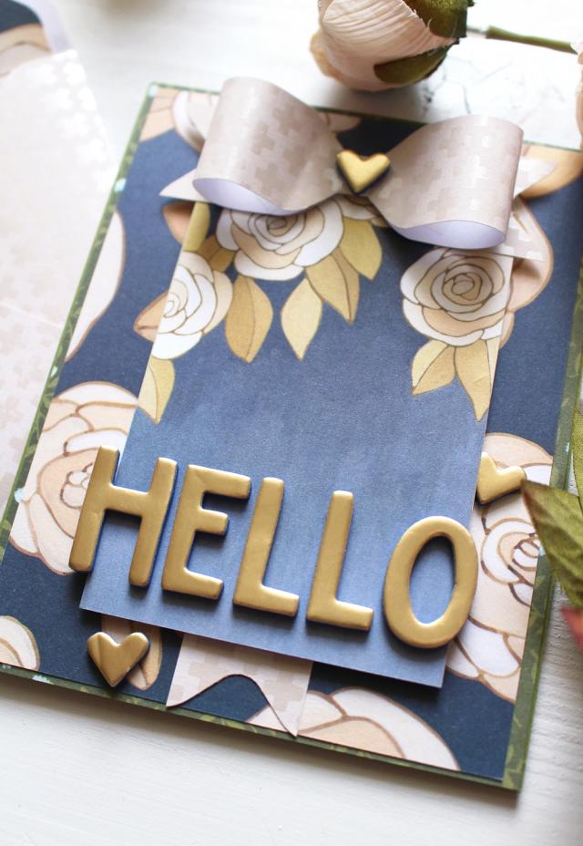 Card Week 123 Punch Board Card We R Memory Keepers Blog