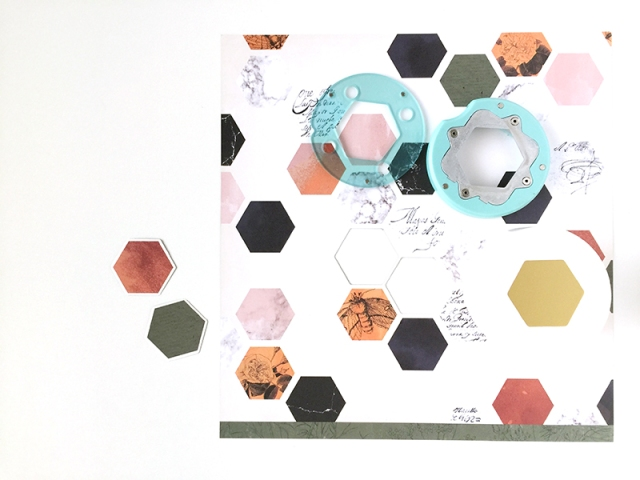Thanksgiving Hostess Gifts by Aly Dosdall featuring the Hexagon Clear Cut Punch