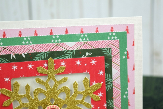 Christmas Cards with the Layer Guides by Becki Adams for We R Memory Keepers