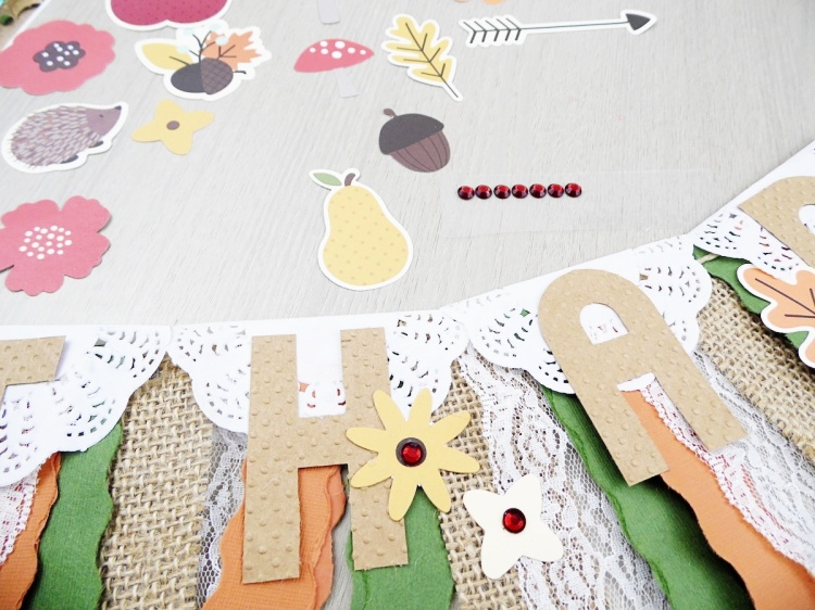 Thanksgiving Banner by Soraya Maes for We R Memory Keepers