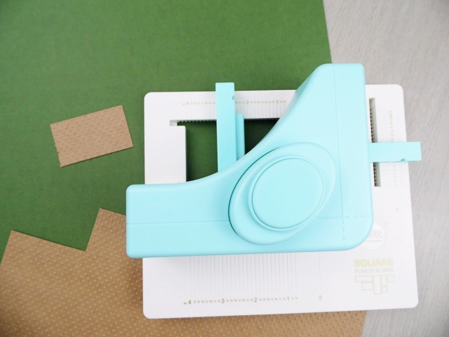 Square Punch Board by We R Memory Keepers