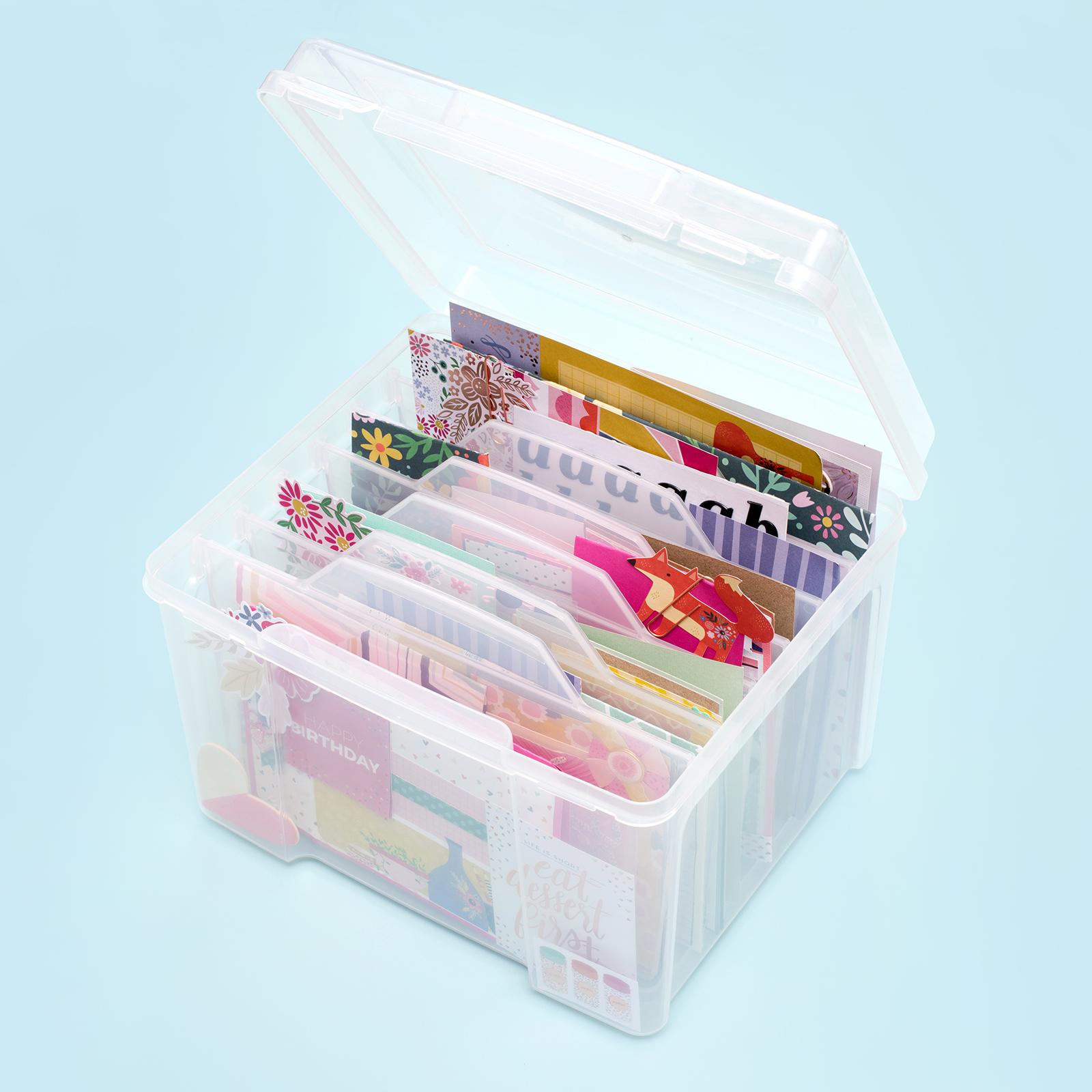 Merveilleux Craft Storage Bins By We R Memory Keepers