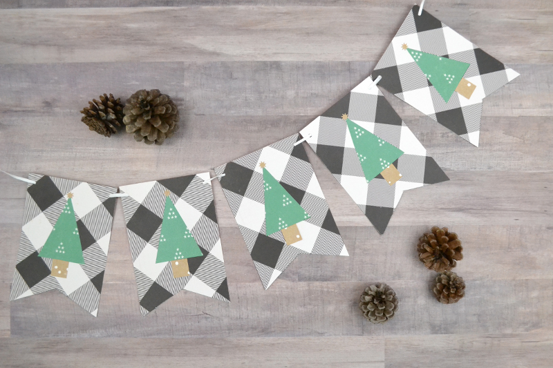 tenth day of christmas: easy christmas tree garland