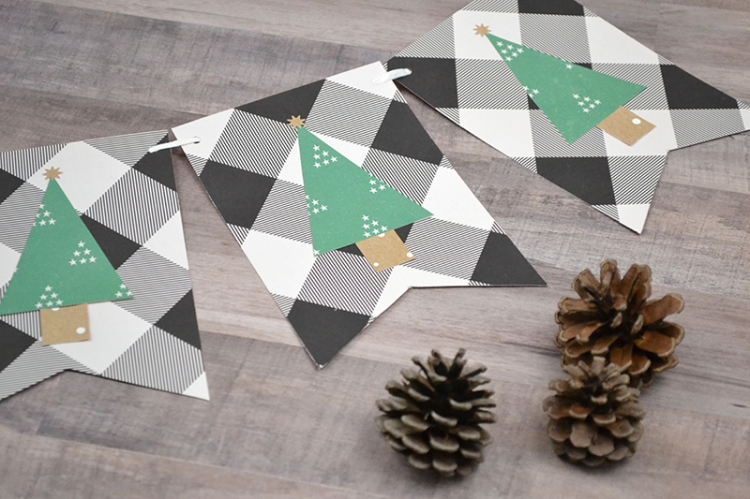 Christmas Tree Garland by Aly Dosdall for We R Memory Keepers