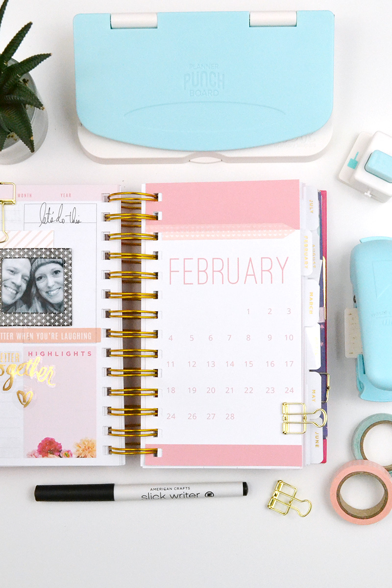 Planner Calendar Inserts by Aly Dosdall