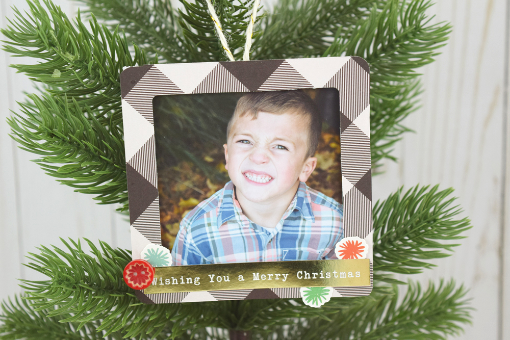 Christmas Photo Ornaments | We R Memory Keepers Blog