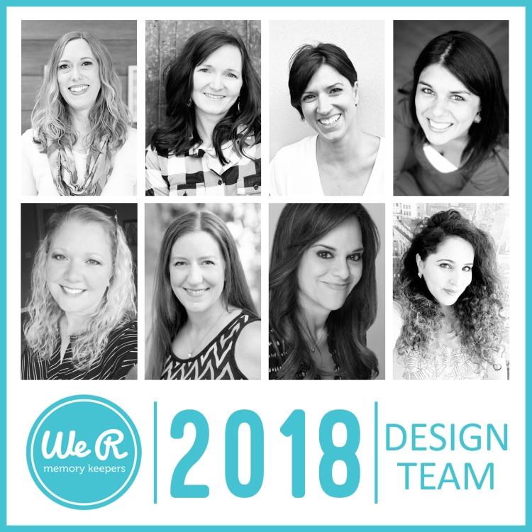 2018 We R Memory Keepers Design Team