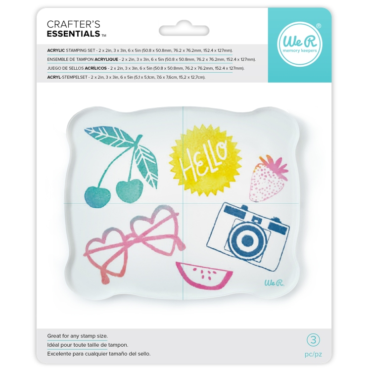 Acrylic Block Set by We R Memory Keepers