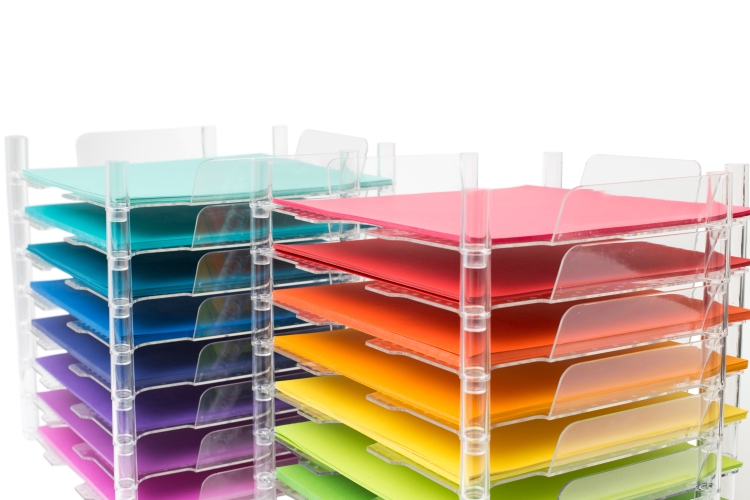 Stackable Paper Trays by We R Memory Keepers