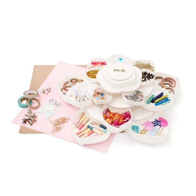 Bloom Embellishment Storage by We R Memory Keepers
