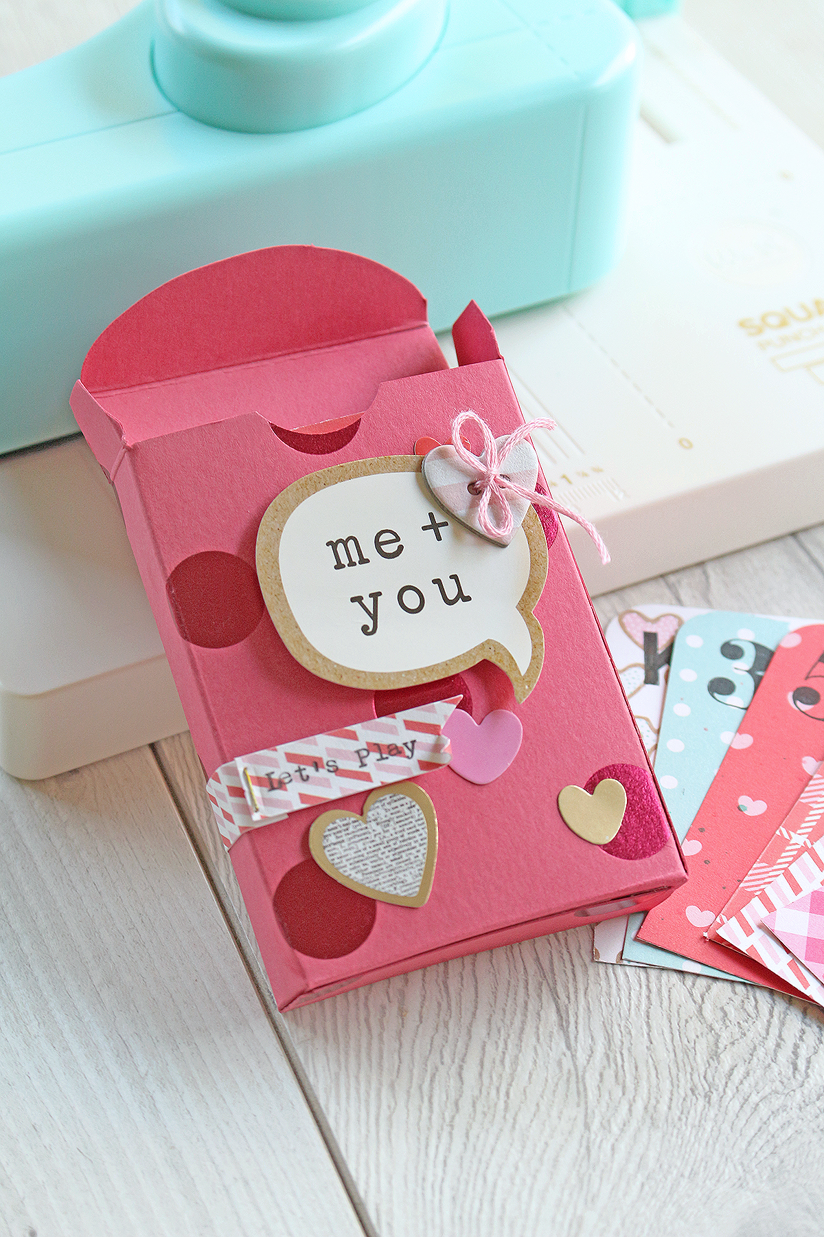 DIY Valentine\'s Day Card Game | We R Memory Keepers Blog