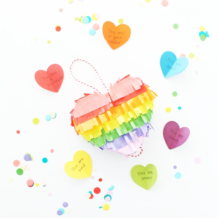 Love Note Heart Piñata by Laura Silva for We R Memory Keepers