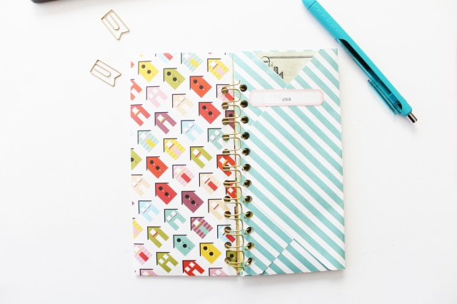 DIY Cash Envelopes by Laura Silva for We R Memory Keepers