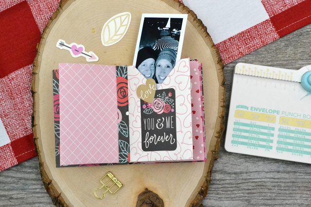 Envelope Photo Album by Aly Dosdall for We R Memory Keepers