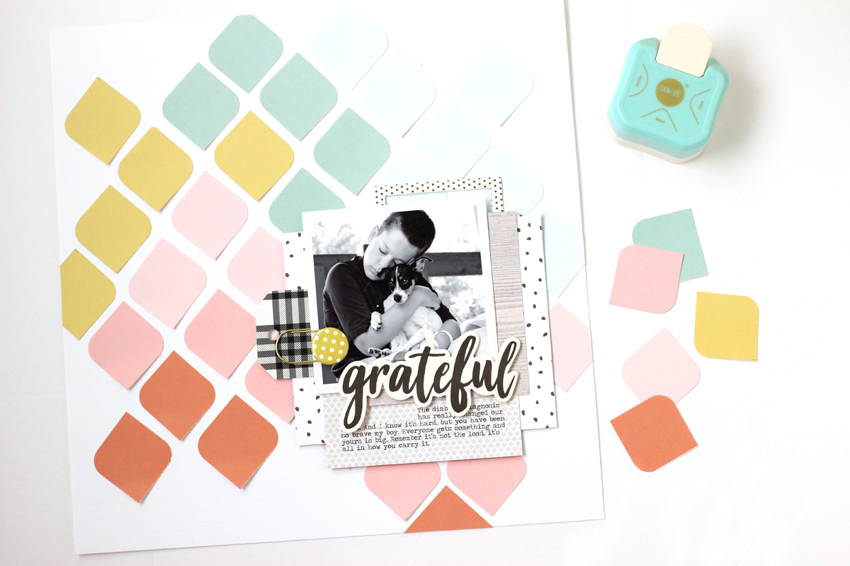 Create Your Own Pattern With The 3 Way Corner Punch We R Memory
