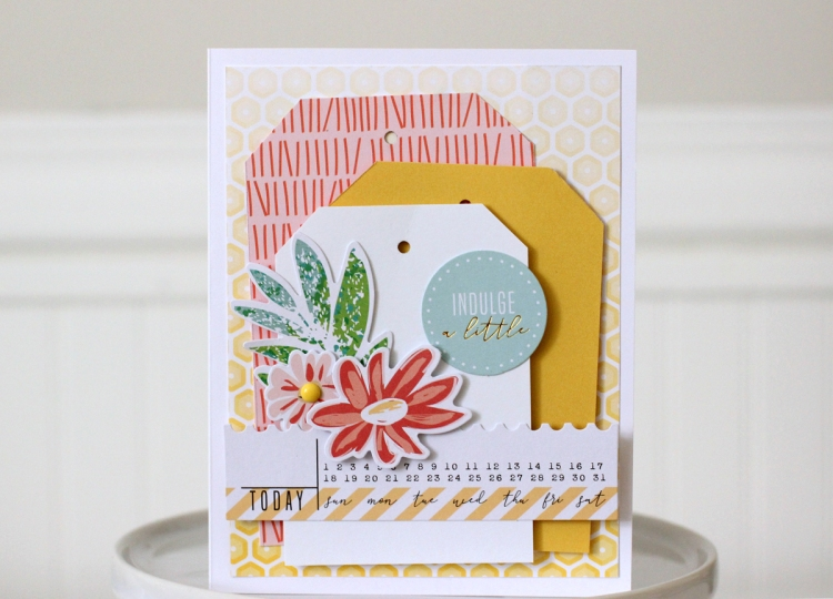 Tag Punch Board Card by Nancy Damiano for We R Memory Keepers