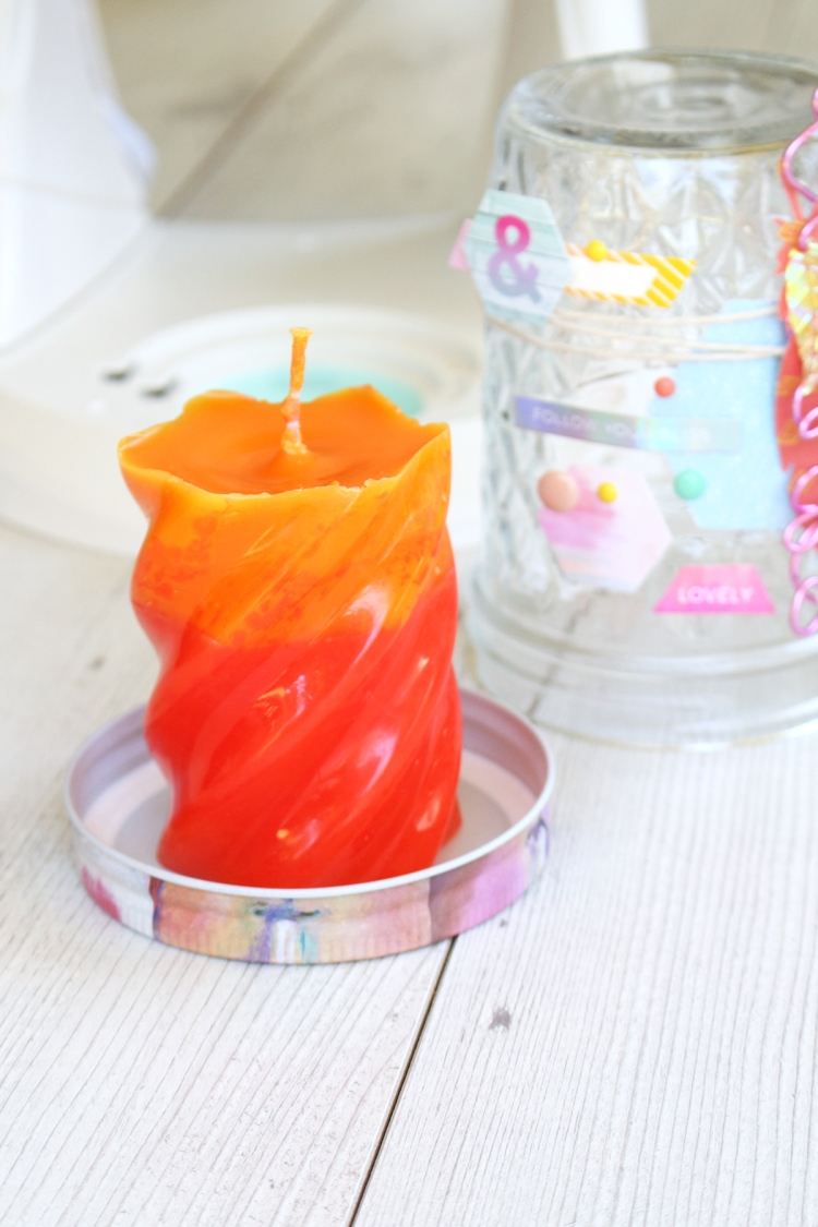 DIY Candle Thank You Gift by Chantalle McDaniels for We R Memory Keepers