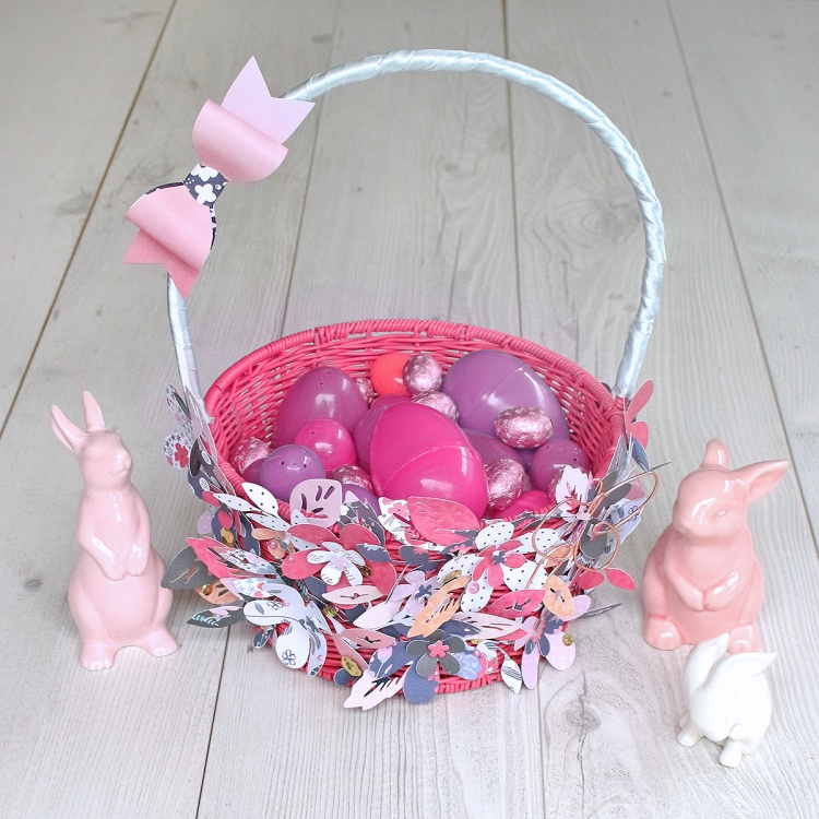 Easter Basket by Chantalle McDaniel for We R Memory Keepers