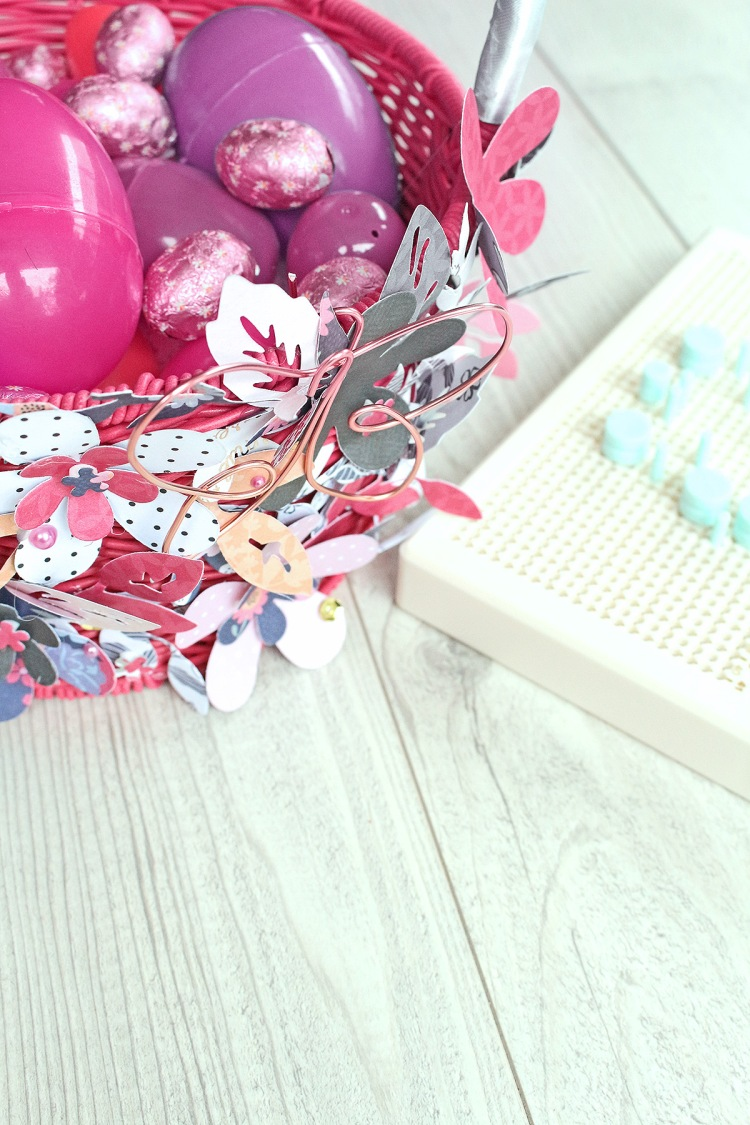Easter Basket by Chantalle McDaniel for We R Memory Keepers featuring the Happy Jig