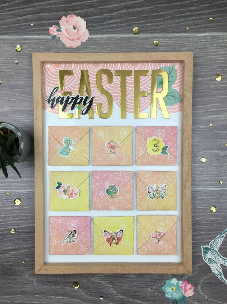 Easter Countdown by Aly Dosdall for We R Memory Keepers