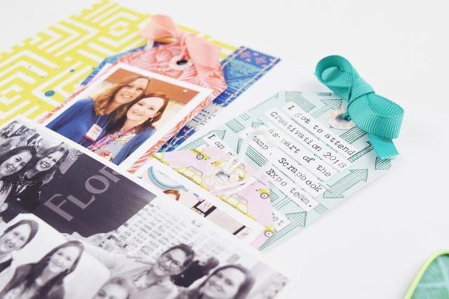 Happy Jig layout by Becki Adams for We R Memory Keepers