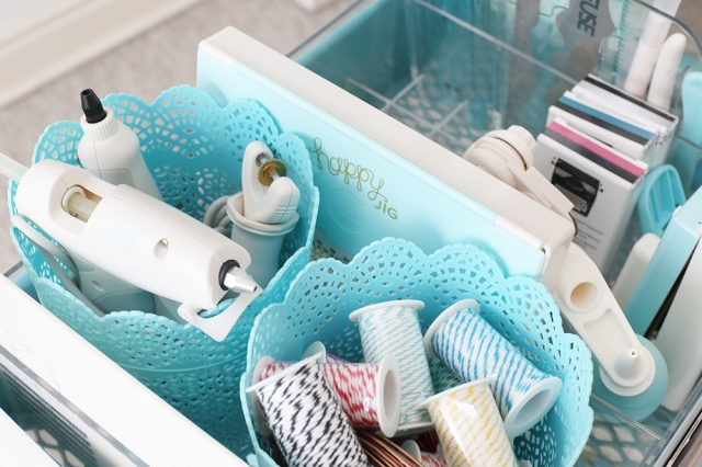 Craft Room Organization Solutions by Eva Pizarro for We R Memory Keepers