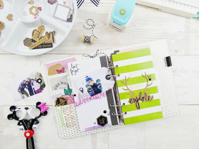 Tag Punch Board Planner Inserts by Soraya Maes for We R Memory Keepers