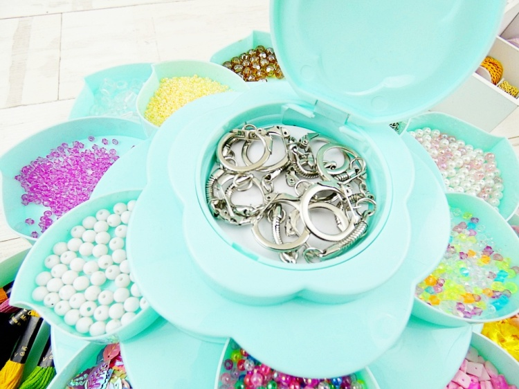 Storage Ideas by Soraya Maes--Bloom Embellishment Storage