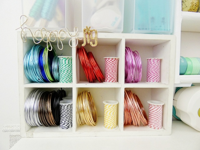 Storage Ideas by Soraya Maes--Happy Jig